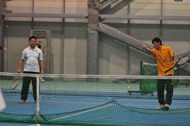 テニス ネオ 西新井 インドア